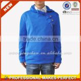 Fleece Men Stylish Navi Blue Hoodie Jacket for sale(YCH-C0347)