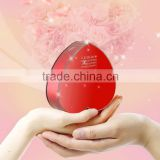 Best wedding gift red heart shape design portable 5200mAh power bank charger with micro usb cable and optional gift box