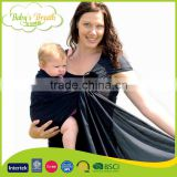 BCW-21 New Popular 100% Cotton Carrier Baby Sling Mesh Baby Wrap