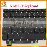 "original for Apple Macbook Pro 15"" A1286 2009 2010 2011 2012 Japanese Keyboard & backlit"
