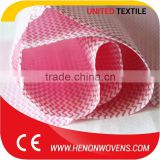 High Hygroscopicity Apertured Spunlace Non-Woven Color Mesh Fabrics