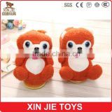 2015 newest plush bear slippers good quality plush slippers manufactuer winter warmly plush slippers