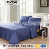 VEKEN home textile plain dyed bed sheet set bamboo home sense bedding set plain dyed bed sheet set bamboo home sense bedding set                                                                         Quality Choice