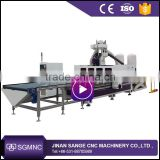 Wooden furniture/cabinet/desk CNC Cutting vertical drilling milling machine                                                                                                         Supplier's Choice