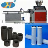 Customized activated carbon block filter cartridge for water purification