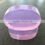China Manufacture Factory Facial Use Solid Form Olive Oil Skin Whitening Transparent Soap
