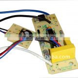 Hair straightener controller ,Electronic PCBA,PCB assembly,PCB layout,PCB copy,Small order acceptable