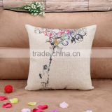 Fashionable Household Back Support Pillow Cartoon Sofa Cushion Cover