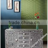 Black Bone Inlay Sideboard