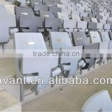fixed indoor,outdoor anti-UV foldable stadium chair,retractable seating system for ball sports,education,amusement