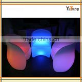 LED plastic table and chair aluminum moulds and OEM outdoor LED furniture aluminum moulds