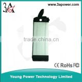 36V10AH electric vehicle lithium battery lithium polymer battery with bms,charger and alloy case