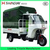 Ambulance India Three wheel Motorcycle Tricycle Advertising for Handicapped
