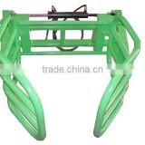 tractor round bale gripper hydrulic bale gripper for front end loader forklift attachment