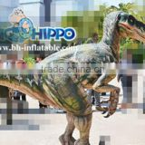 Walking with life like adult dinosaur costume for sale