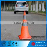 Multi-size road block equipment portable collapsible cone