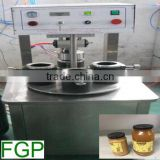 Semi-automatic Glass Jar Vacuum Capping Machine capper machine glass bottle sealing machine factory price