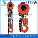 Zero type 2T3M Chain Hoist lifting capacity 2Tmanual chain hoist Baoding Chain hoistManufacture