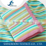 2016 Summer Hot Popular Knitted Stripe Baby Blankets
