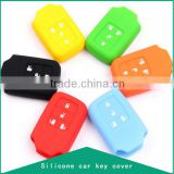 Top grade Silicone Car key cover, 4 bottons car key cap for H car, Customized car key chain, Car Accessories