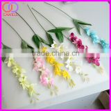 cheap 6 colors available wholesale silk small artificial orchid for sale