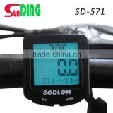30function Sunding mountain cycle computer bike speedometer 3 languages cycle speed meter