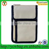Waterproof cheap travel organizer passport holder rfid