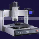 Wide application bench top automatic epoxy resin glue dispening machine robot . liquid dispenser robot