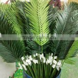 artificial silk tropical leaves
