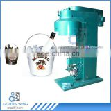 Semi-automatic Tin Can Seamer Machine Of Beer Ice Bucket Promotion Barware Wine Cooler Tin Bucket Production Line