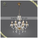Wholesale Candle Holders Crystal Chandeliers Pendant Lights for 6 Lamps, European Style Lighting Chandelier