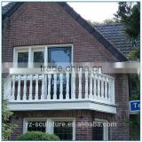Modern Outdoor White marble Balcony Balustrade