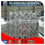 galvanized equal angle steel, Full sizes