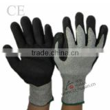 Deenyma anti- cutting gloves/ latex coated cut resistant gloves