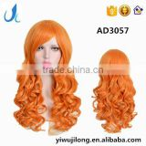 YIWU Perfect Lady short orange cosplay hair wig