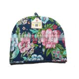 Wholesale Colorful Flower Pattern Tea Pot Cover Garden Style Cotton Tea Cosy