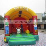 Direct Manufacture of factory price farm bouncy castle with air blower