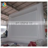 Heat sealed Inflatable Screen , White advertising Inflatable Screen for sale
