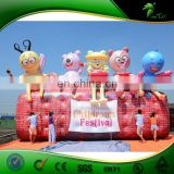 Custom Vivid Advertising Inflatable Bee, Inflatable Bear Animal Model