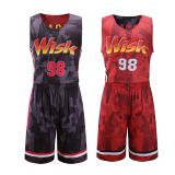 cheap wholesale custom sublimation basketball jersey design for team
