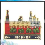 New coming house shape cities fridge magnet