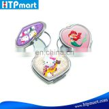 Custom Design Cute Hello Kitty Makeup Tool Heart Shape Mirror Pocket Mirror of Cheap Price