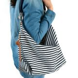 waterproof canvas diaper bag with long shoulder