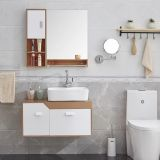 Home furniture good quality white PVC bathroom furniture