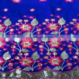Hot Sale islamic Jacquard And Embroidery Scarf For Lady