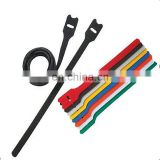 Amazon Hot Sell hold strong grip reusable cinch straps hook and loop cable ties Hook Loop Binding Strap