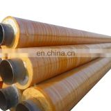 Yellow Jacket Thermal Anti-Corrosion Layer Coated Steam Insulation Steel Pipe