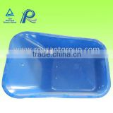 OEM avaliable poly wheel barrow tray size 5CU.FT