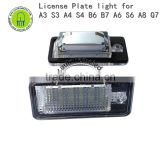 6000K License Number Plate Light Lamp For A3 S3 A4 S4 B6 B7 A6 S6 A8 Q7 NO Canbus Error E8
