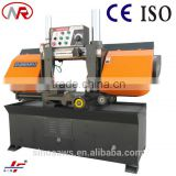 cutting sheet cover metal straight cutting horizontal press band cutter wood cutting band saw machine